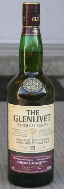 Glenlivet 15 Year French Oak Reserve
